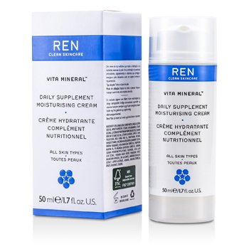 Ren Vita Mineral Daily Supplement Crema Hidratante (Para Todo Tipo de Piel)  50ml/1.7oz