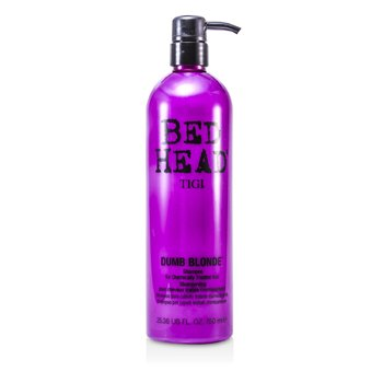 Tigi Bed Head Dumb Blonde Shampoo (For kjemisk behandlet hår)  750ml/25.36oz