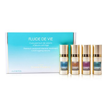 Methode Jeanne Piaubert Fluide De Vie - Premium Seasonal Intensive Treatment Anti-Ageing Serums - Serum Anti Penuaan  4x11ml/0.36oz