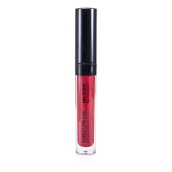 Make Up For Ever Lab Shine Star Colección Pearly Brillo de Labios - #S8 (Ruby Red) (Sin Caja)  2.6g/0.09oz