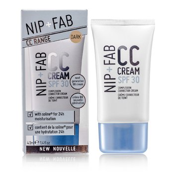 NIP+FAB CC Cream SPF 30 - # Mørk  40ml/1.4oz