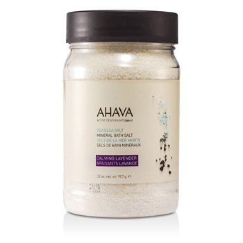 Ahava Deadsea Salt Calming Lavender Dead Sea Bath Salt  907g/32oz