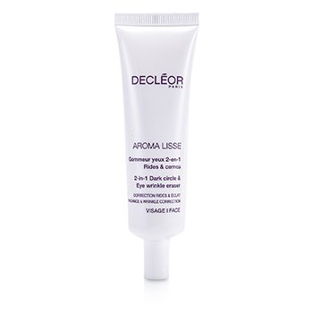 Decleor Aroma Lisse 2-in-1 Dark Circle & Eye Wrinkle Eraser (Salongstørrelse)  30ml/1oz