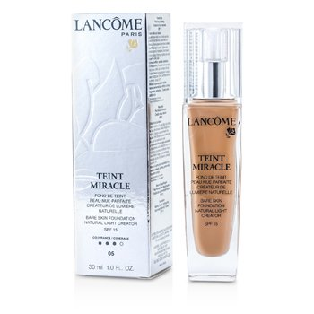 Lancome Teint Miracle Bare Skin Foundation Natural Light Creator SPF 15 - # 05 Beige Noisette  30ml/1oz
