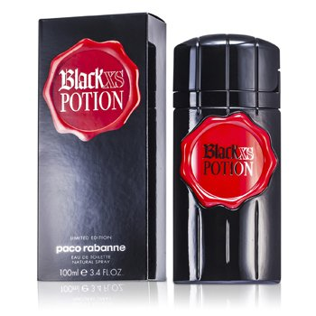 Paco Rabanne Black Xs Potion Eau De Toilette Spray (Edición Limitada)  100ml/3.4oz