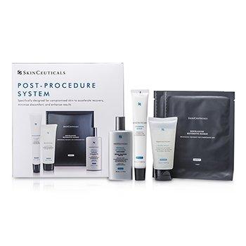 Skin Ceuticals Sistema Post Procedimiento: 1xHidra B�lsamo 50ml/1.67oz, 1xReparaci�n Epid�rmica 40ml/1.35oz, 1xDefensa UV SPF30 50ml/1.7oz, 2xM�scara  5pcs