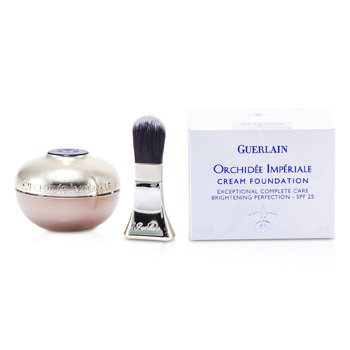 Guerlain Orchidee Imperiale Cream Foundation Brightening Perfection SPF 25 - # 12 Rose Clair  30ml/1oz