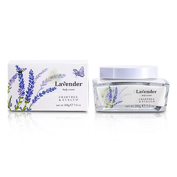 Crabtree & Evelyn Lavender Body Cream  200g/7oz