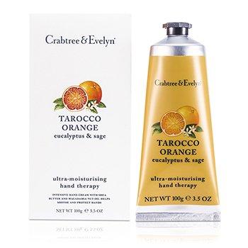Crabtree & Evelyn Tarocco Orange, Eucalyptus & Sage Terapia de Manos Ultra Hidratante  100g/3.5oz