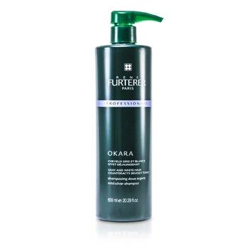 Rene Furterer Okara Mild Silver Shampoo - For Gray and White Hair (Salon Product)  600ml/20.29oz