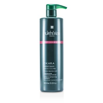 Rene Furterer Okara Radiance Enhancing Shampoo - For Color-Treated Hair (Salon Product)  600ml/20.29oz