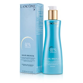 Lancome Soleil Bronzer Hydrating Beautifying After Sun Milk  200ml/6.7oz