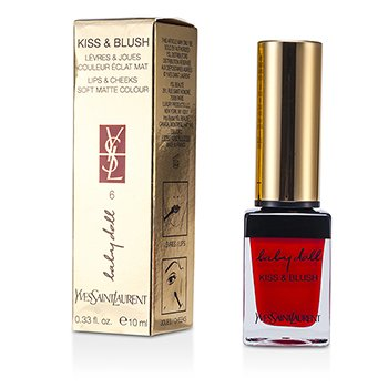 Yves Saint Laurent Baby Doll Beso & Sonrojo - # 06 Rouge Libertine  10ml/0.33oz