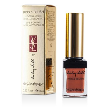 Yves Saint Laurent Baby Doll Beso & Sonrojo - # 12 Moca Garconne  10ml/0.33oz