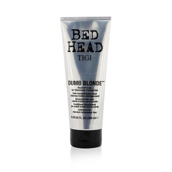 Tigi Tratamento Reconstrutor Bed Head Dumb Blonde (Cabelos Quimicamente Tratados)  200ml/6.76oz