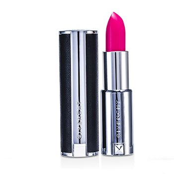 Givenchy Le Rouge Intense Color Sensuously Mat Lipstick - # 209 Rose Perfecto (Genuine Leather Case)  3.4g/0.12oz