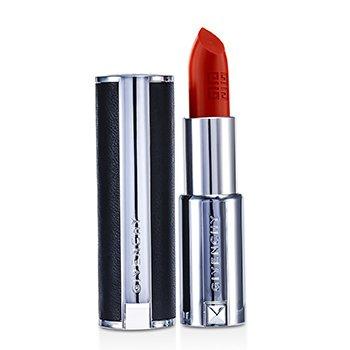 Givenchy Le Rouge Intense Color Sensuously Mat Pintalabios - # 317 Corail Signature (Estuche de Cuero Genuino)  3.4g/0.12oz