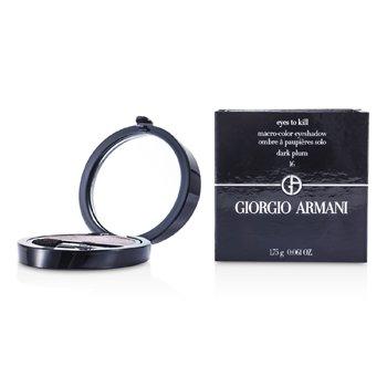Giorgio Armani Eyes to Kill Sombra de Ojos Individual - # 16 Dark Plum  1.75g/0.061oz