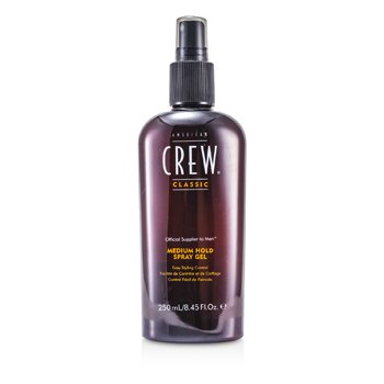 American Crew Men Gel Spray Agarre Medio (Control de Fácil Peinado)  250ml/8.45oz