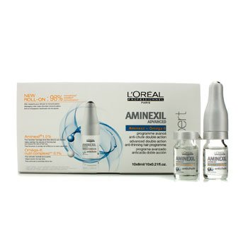 L'Oreal Professionnel Expert Serie - Aminexil Advanced Anti-Thinning Hair Programme  10x6ml/0.21oz