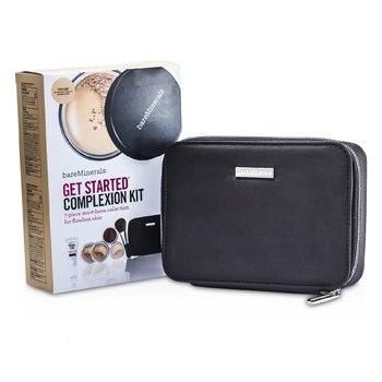 BareMinerals Kit Para Pele BareMinerals Get Started Complexion - # Fairly Light  6pcs+1clutch