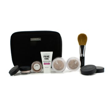 BareMinerals Kit BareMinerals Get Started Complexion For Flawless Skin - # Medium Beige  6pcs+1clutch