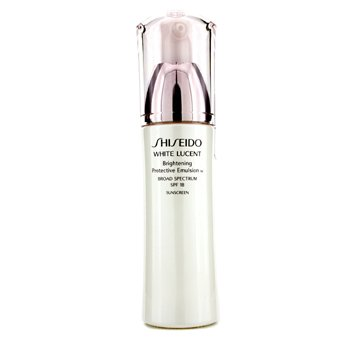 Shiseido White Lucent Emulsión Protectora Iluminante W SPF 18  75ml/2.5oz