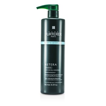 Rene Furterer Astera High Tolerance Sensitive Champú - Para Cuero Cabelludo Sensible (Producto Salón)  600ml/20.29oz