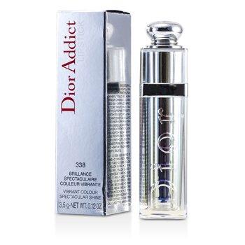 Christian Dior Dior Addict Be Iconic Vibrant Color Spectacular Shine Lipstick - No. 338 Mirage  3.5g/0.12oz
