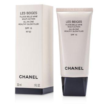 ชาแนล ฟลูอิดปรับสีผิว Les Beiges All In One Healthy Glow SPF 15 - เบอร์50  30ml/1oz