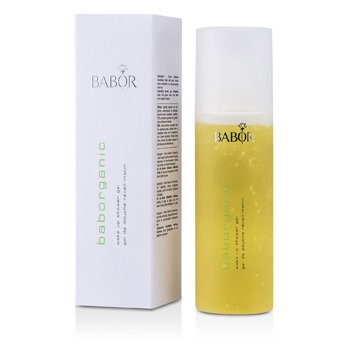 Babor Baborganic Wake Up Shower Gel - Gel Mandi  200ml/6.7oz