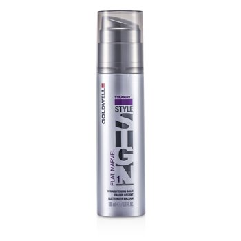 Goldwell Style Sign Flat Marvel 1 Bálsamo Alisador  100ml/3.3oz