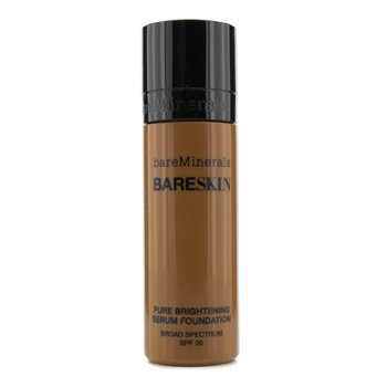 BareMinerals BareSkin Pure Brightening Serum Foundation SPF 20 - # 19 Bare Espresso  30ml/1oz