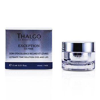 Thalgo Exception Ultime Ultimate Time Solution Eyes & Lips Cream  15ml/0.51oz
