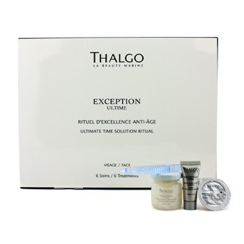 Thalgo Exception Ultime Ultimate Time Solution Ritual - Tratamiento Protocolo Anti Edad (Producto Salón)  6 Treatments