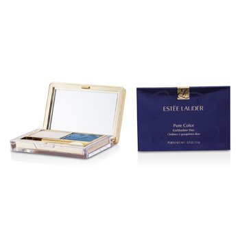Estee Lauder Nueva Sombra de Ojos Duo Color Puro - 07 Waves  3.5g/0.12oz