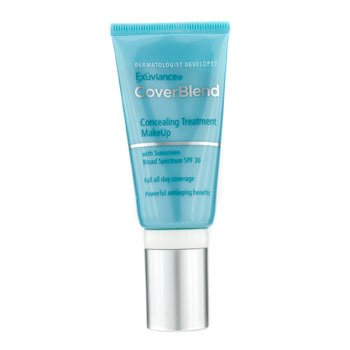 Exuviance Coverblend Concealing Treatment Makeup SPF30 - # Honey Sand  30ml/1oz