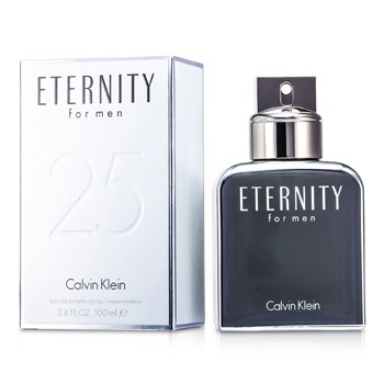 Calvin Klein Eternity Eau De Toilette Spray (25th Anniversary Edition)  100ml/3.4oz