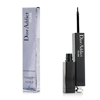 Christian Dior Dior Addict It Line Eyeliner - # Black  2.5ml/0.08oz