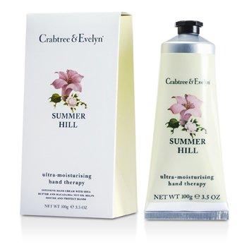 Crabtree & Evelyn Summer Hill Terapia de Manos Ultra-Hidratante  100g/3.5oz