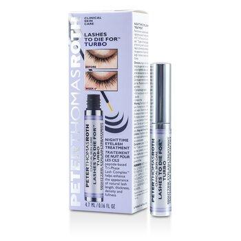 פיטר תומס רות' Lashes To Die For Turbo Nighttime Eyelash Treatment – טיפול טורבו לריסים למשך הלילה  4.7ml/0.16oz