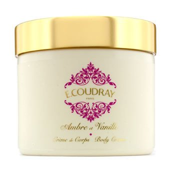 E Coudray Amber & Vanilla Perfumed Body Cream (New Packaging)  250ml/8.4oz