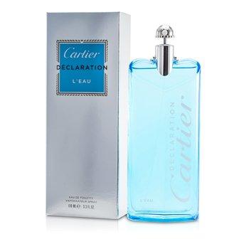 Cartier Declaration L'Êau EDT Sprey  100ml/3.3oz