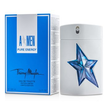 Thierry Mugler (Mugler) A*Men Pure Energy Eau De Toilette Spray (Limited Edition)  100ml/3.4oz