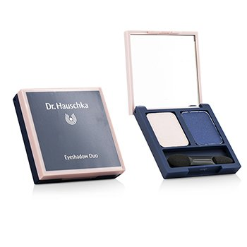 Dr. Hauschka Eyeshadow Duo - # 09 Pink/Blue  2x1.3g/0.05oz