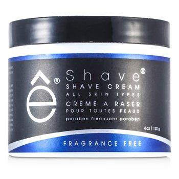 EShave Crema de Afeitar - Libre de Fragrancia  120g/4oz
