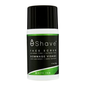 EShave Face Scrub - White Tea  50g/1.7oz