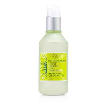 L'Occitane Angelica Hydra Vital Cleansing Gel - Pembersih  200ml/6.7oz