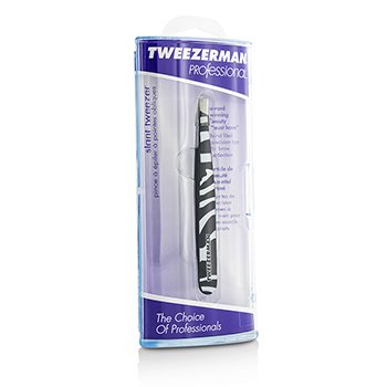 Tweezerman Pinzas Inclinadas Profesionales (Pattern Prints) - Animal Print/ Zebra