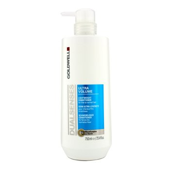 Goldwell Dual Senses Ultra Volume Acondicionador Ligero (Para Cabello Fino a Normal)  750ml/25.4oz